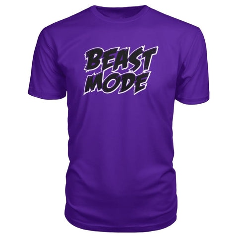 Image of Beast Mode Premium Tee - Purple / S - Short Sleeves