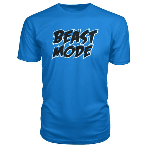 Image of Beast Mode Premium Tee - Royal Blue / S - Short Sleeves