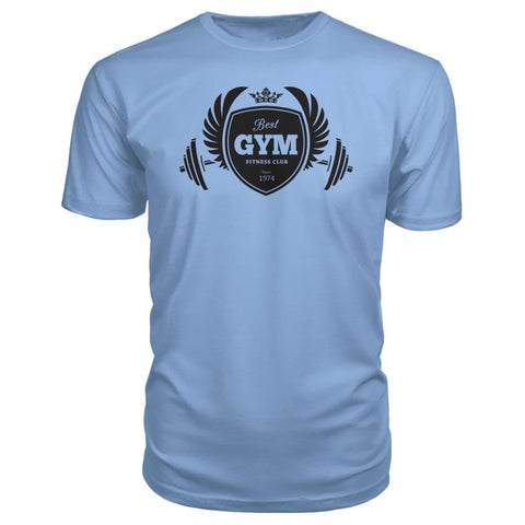Image of Best Gym Premium Tee - Light Blue / S - Short Sleeves