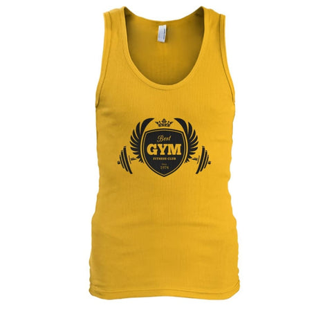 Best Gym Tank - Gold / S - Tank Tops