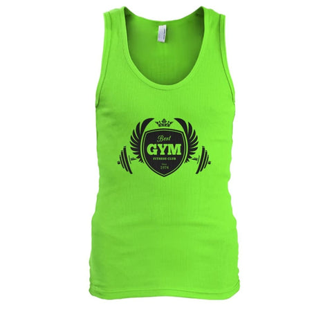 Best Gym Tank - Lime / S - Tank Tops