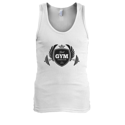 Best Gym Tank - Orange / S - Tank Tops