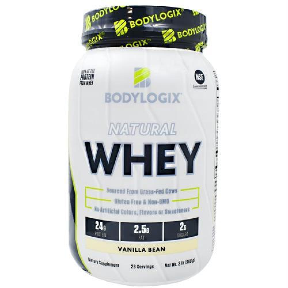 BodyLogix Natural Whey Vanilla Bean - Gluten Free - Vanilla Bean / 2 lb - Supplements