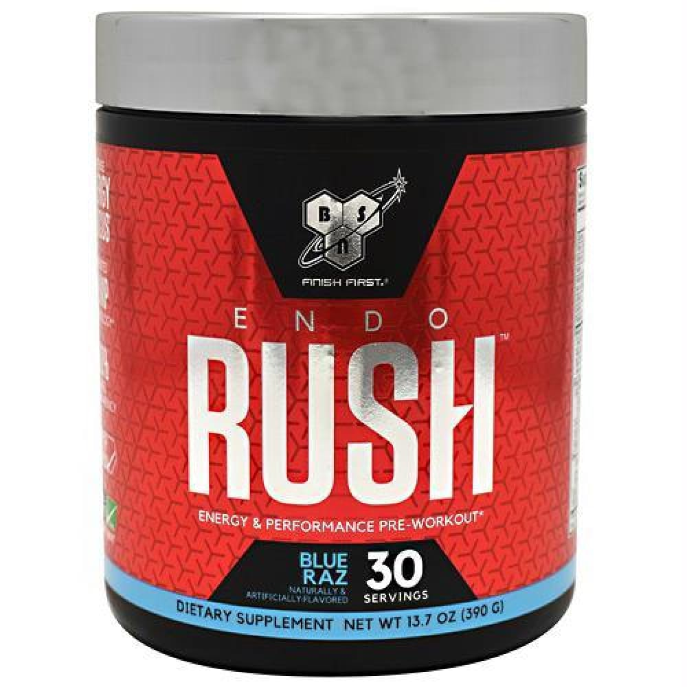 BSN Endorush Blue Raz - Blue Raz / 30 ea - Supplements