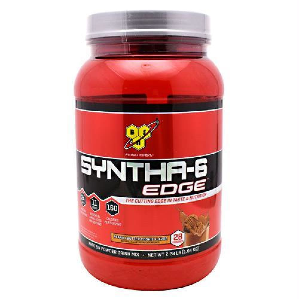 BSN Syntha-6 Edge Peanut Butter Cookie - Peanut Butter Cookie / 28 ea - Supplements