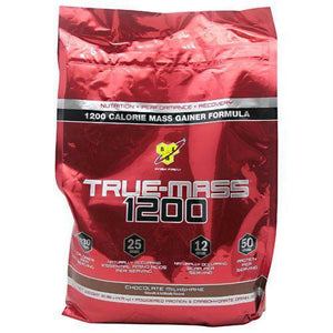 BSN True Mass 1200 Vanilla Ice Cream - Chocolate Milkshake / 10.25 lb - Supplements
