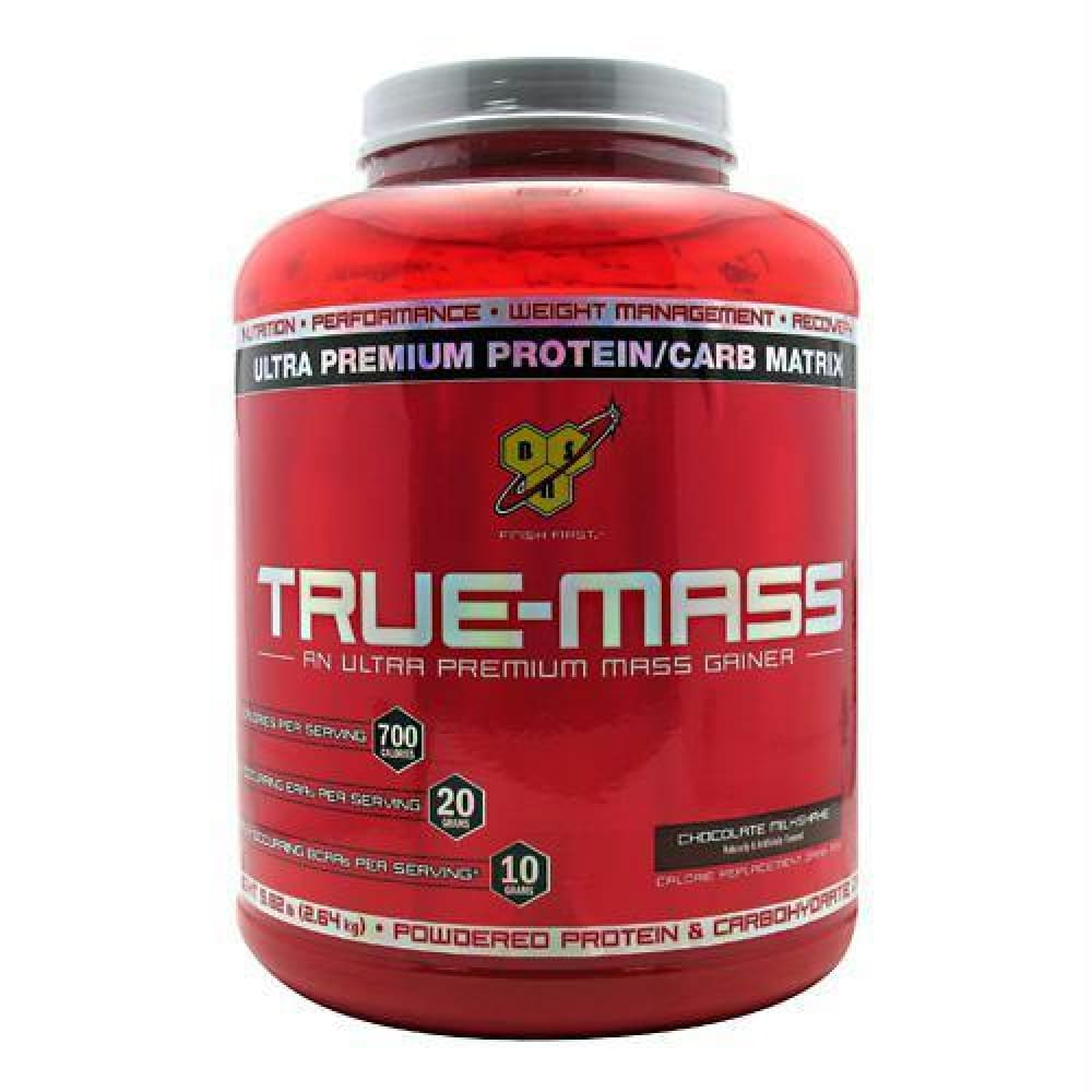 BSN True-Mass Chocolate MilkShake - Chocolate MilkShake / 5.82 lb - Supplements