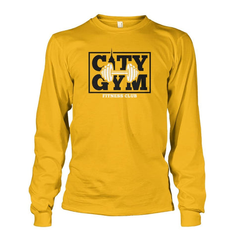 Image of City Gym Long Sleeve - Gold / S - Long Sleeves