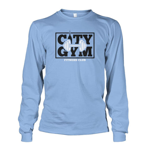 Image of City Gym Long Sleeve - Light Blue / S - Long Sleeves
