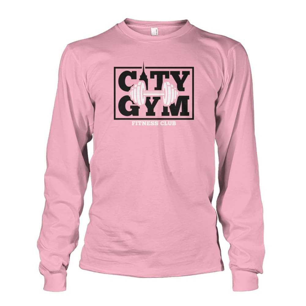 City Gym Long Sleeve - Light Pink / S - Long Sleeves