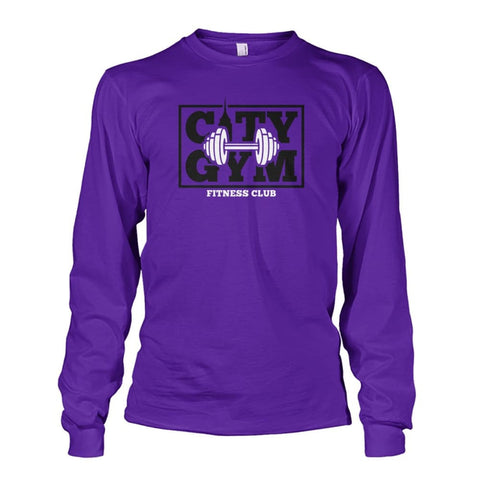 Image of City Gym Long Sleeve - Purple / S - Long Sleeves