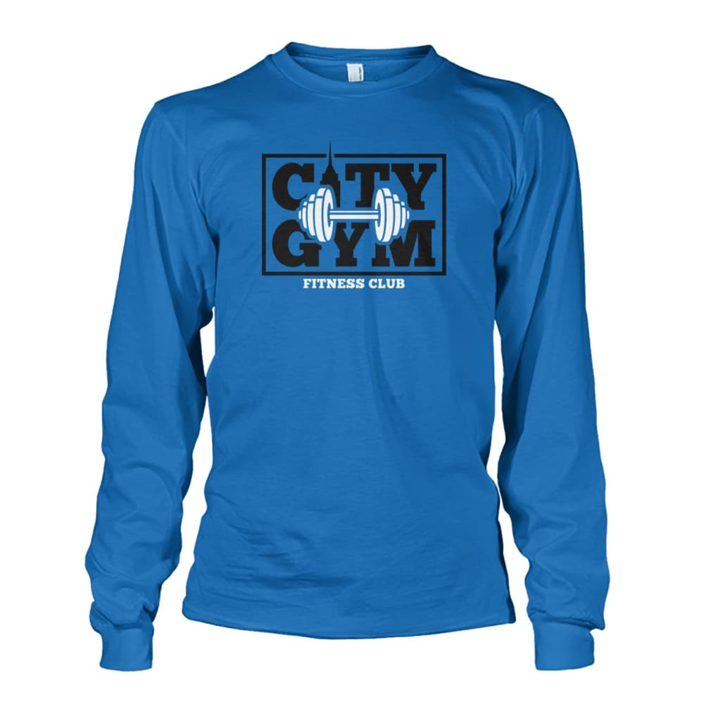 City Gym Long Sleeve - Sapphire / S - Long Sleeves
