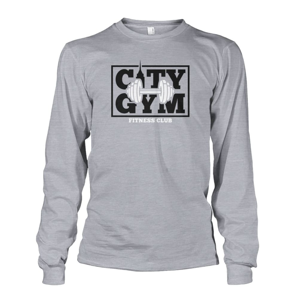 City Gym Long Sleeve - Sports Grey / S - Long Sleeves