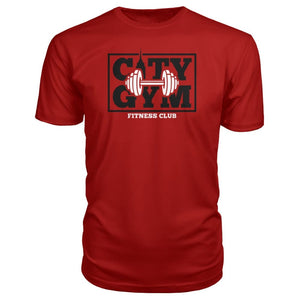 City Gym Premium Tee - Red / S - Short Sleeves