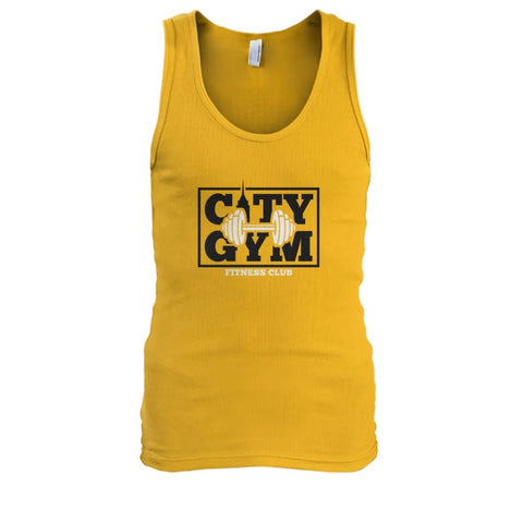 City Gym Tank - Gold / S - Tank Tops