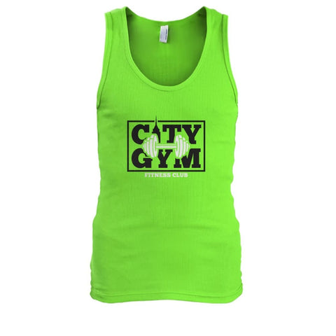 Image of City Gym Tank - Lime / S - Tank Tops
