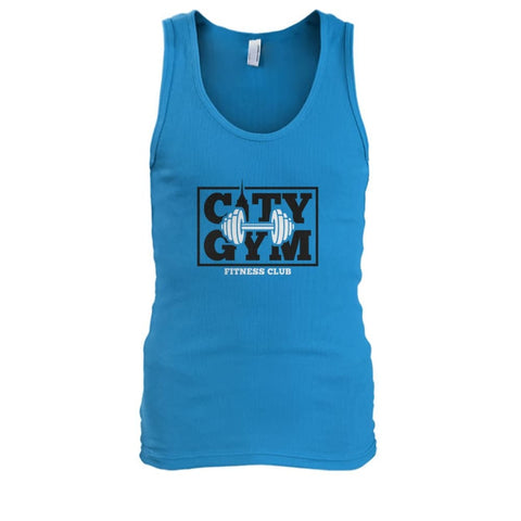 Image of City Gym Tank - Sapphire / S - Tank Tops
