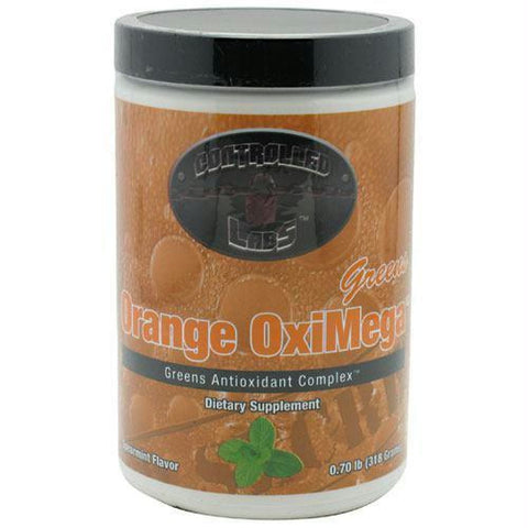 Controlled Labs Orange OxiMega Greens Spearmint - Spearmint / 60 ea - Supplements