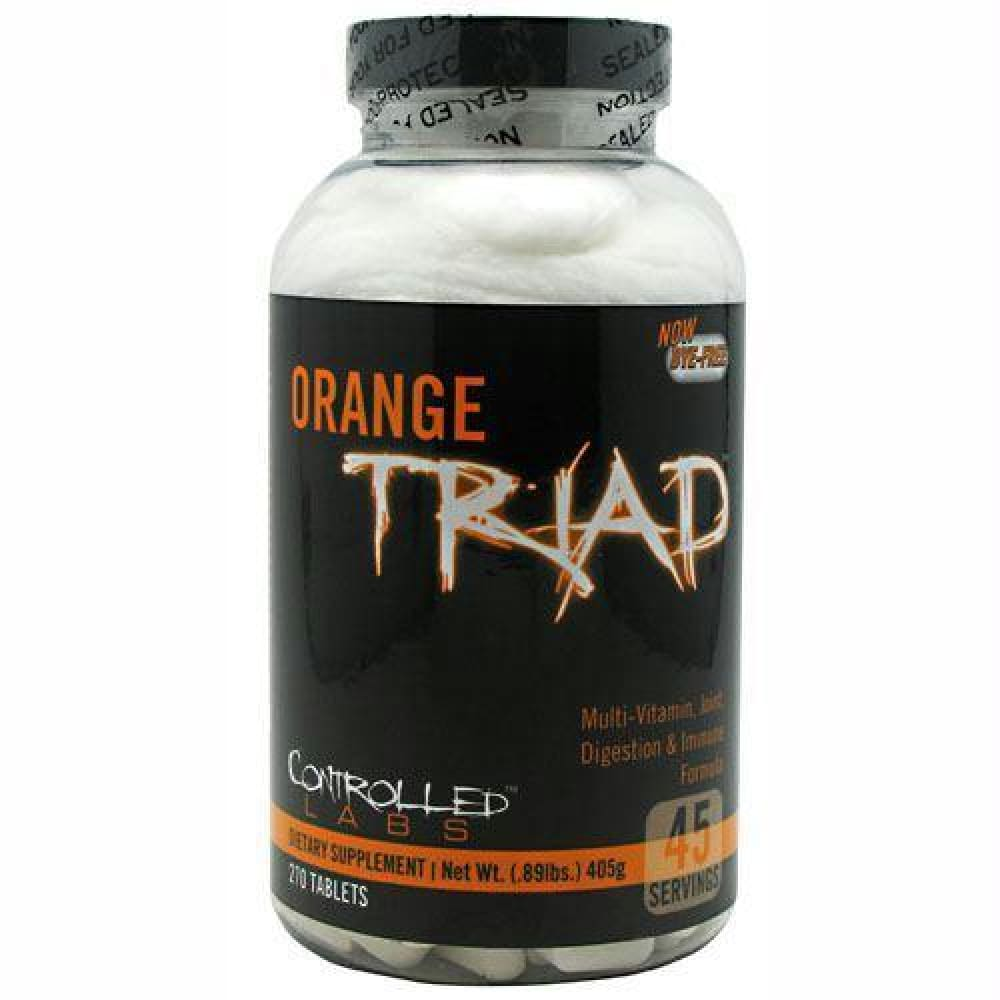 Controlled Labs Orange Triad - 270 ea - Supplements