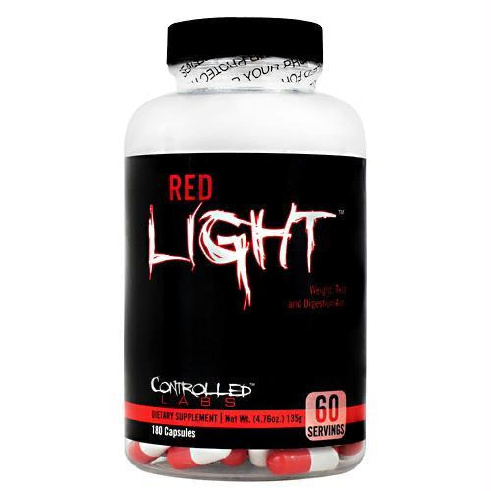 Controlled Labs Red Light - 180 ea - Supplements