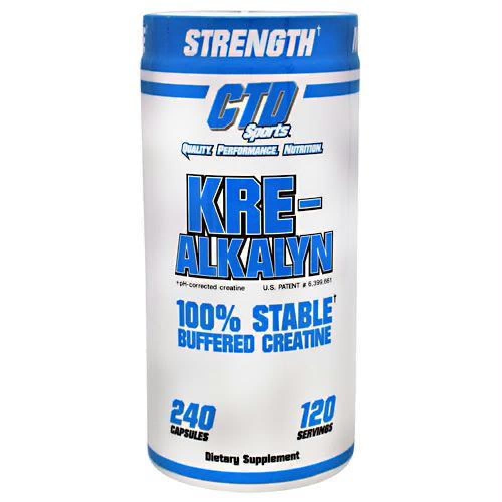 CTD Labs Kre-Alkalyn - 240 ea - Supplements