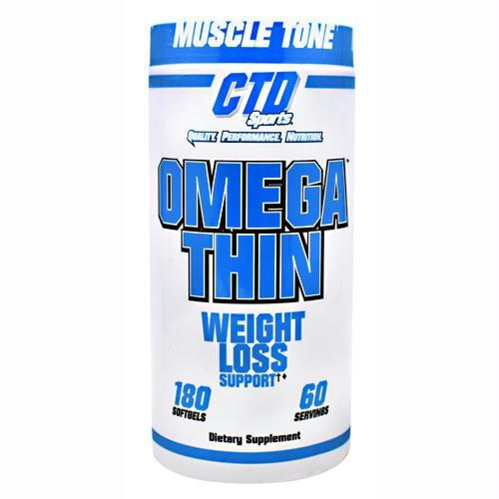 CTD Labs Omegathin - 180 ea - Supplements