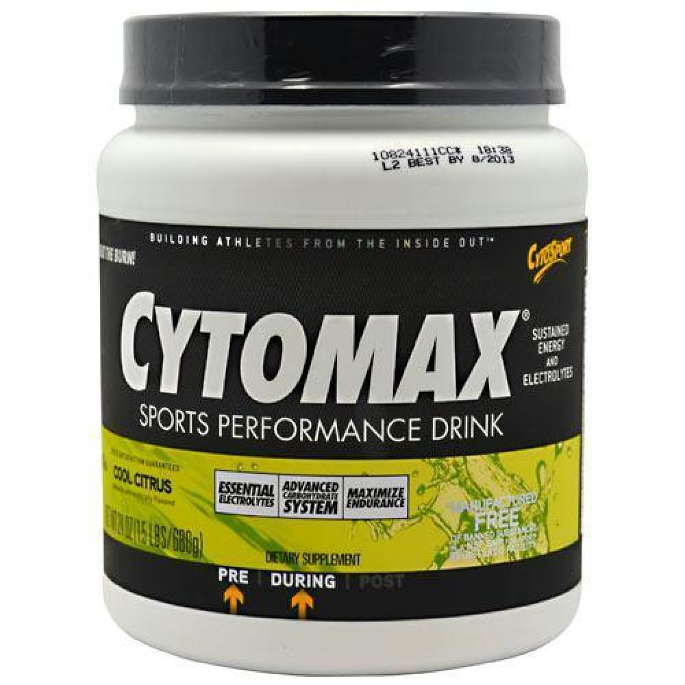 Cytosport Cytomax Cool Citrus - Cool Citrus / 1.5 lb - Supplements