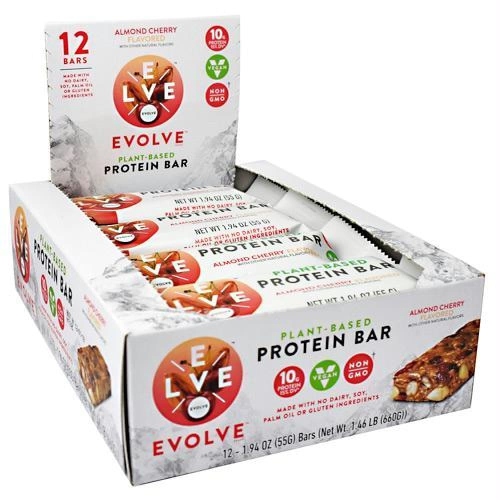 Cytosport Evolve Evolve Bar Almond Cherry - Almond Cherry / 12 ea - Bars