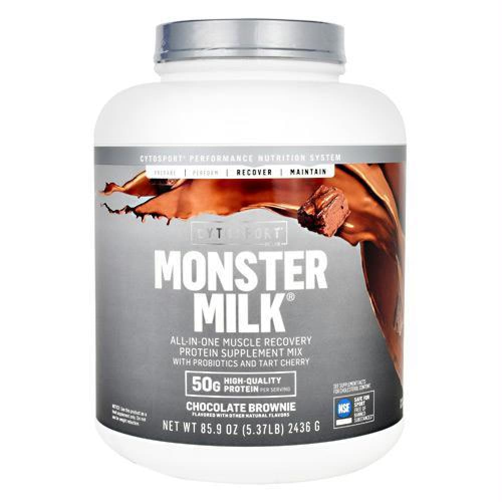 Cytosport Monster Milk Vanilla Bean - Chocolate Brownie / 5.37 lb - Supplements