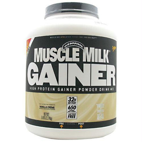 Cytosport Muscle Milk Gainer Vanilla Creme - Gluten Free - Vanilla Creme / 5 lb - Supplements