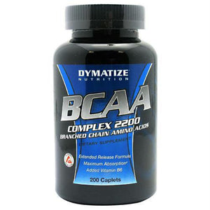 Dymatize BCAA Complex 2200 - Gluten Free - 200 ea - Supplements