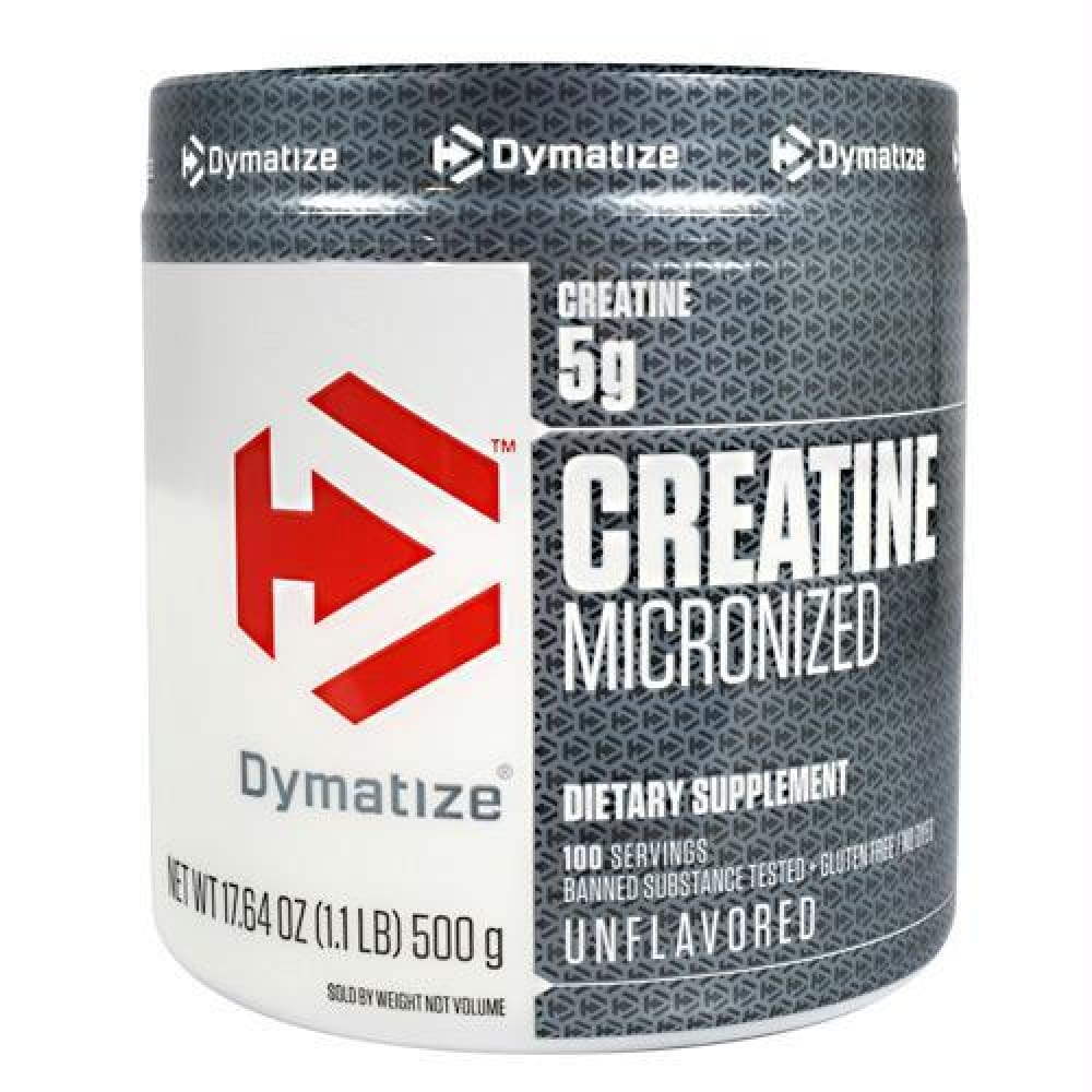 Dymatize Creatine Micronized Unflavored - Gluten Free - Unflavored / 500 g - Supplements