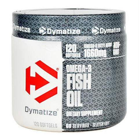 Dymatize Omega-3 Fish Oil - Gluten Free - 120 ea - Supplements