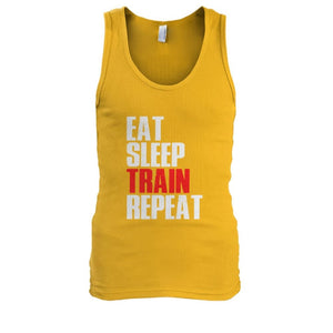 Eat Sleep Train Repeat Tank