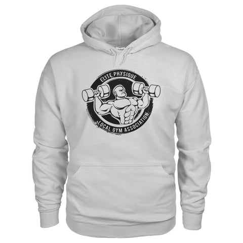 Image of Elite Physique Hoodie - Ash Grey / S - Hoodies