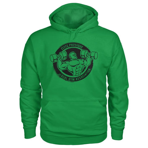 Image of Elite Physique Hoodie - Irish Green / S - Hoodies