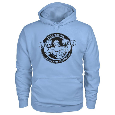Image of Elite Physique Hoodie - Light Blue / S - Hoodies