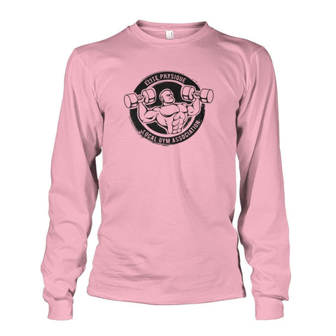 Elite Physique Long Sleeve - Light Pink / S - Long Sleeves
