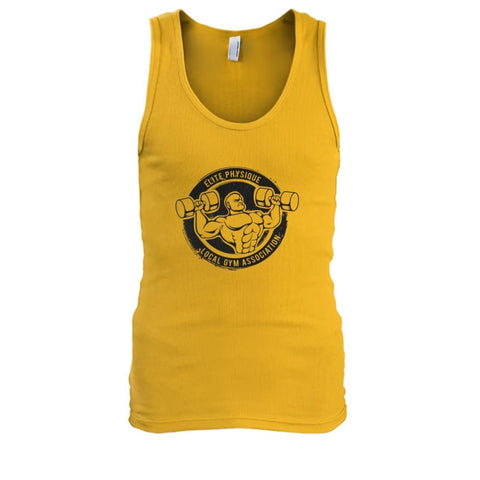 Image of Elite Physique Tank - Gold / S - Tank Tops