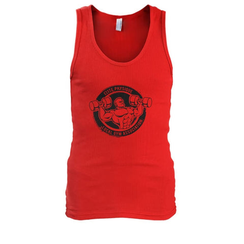 Elite Physique Tank - Red / S - Tank Tops