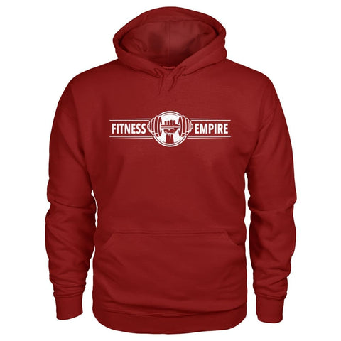 Image of Fitness Empire Hoodie - Cardinal Red / S - Hoodies