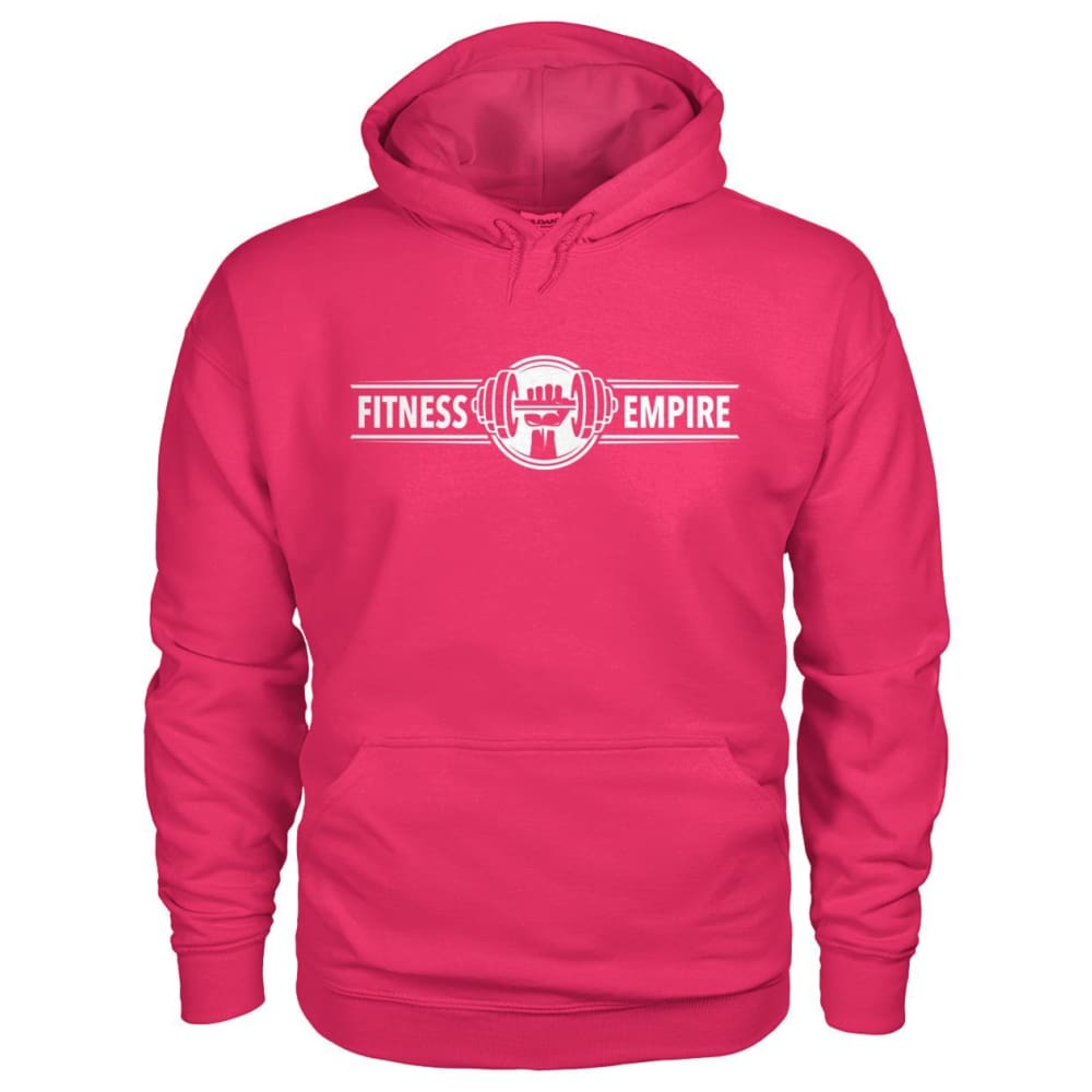 Fitness Empire Hoodie - Heliconia / S - Hoodies