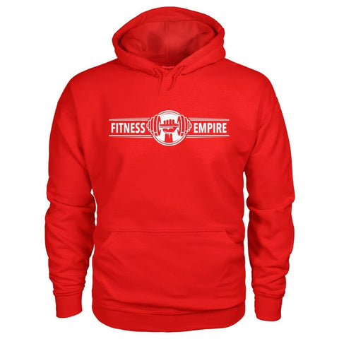 Fitness Empire Hoodie - Red / S - Hoodies