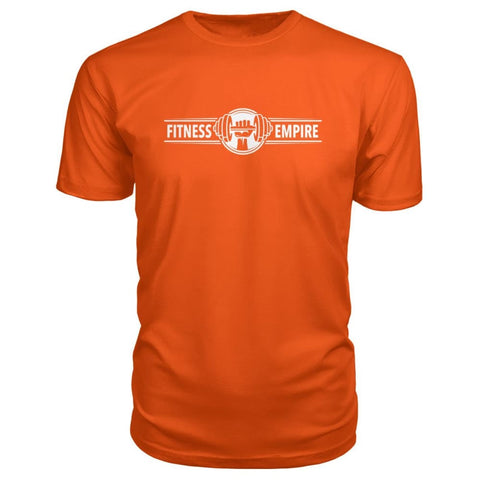 Image of Fitness Empire Premium Tee - Orange / S - Short Sleeves