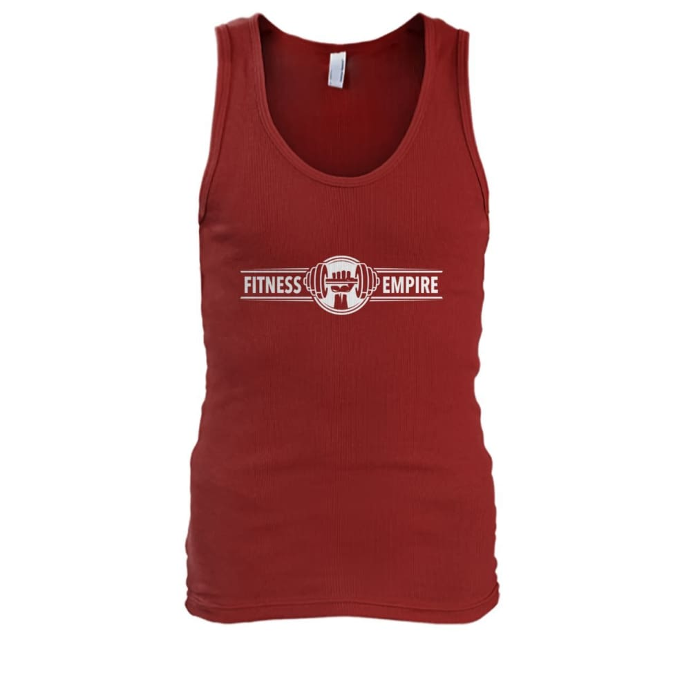 Fitness Empire Tank - Cardinal Red / S - Tank Tops