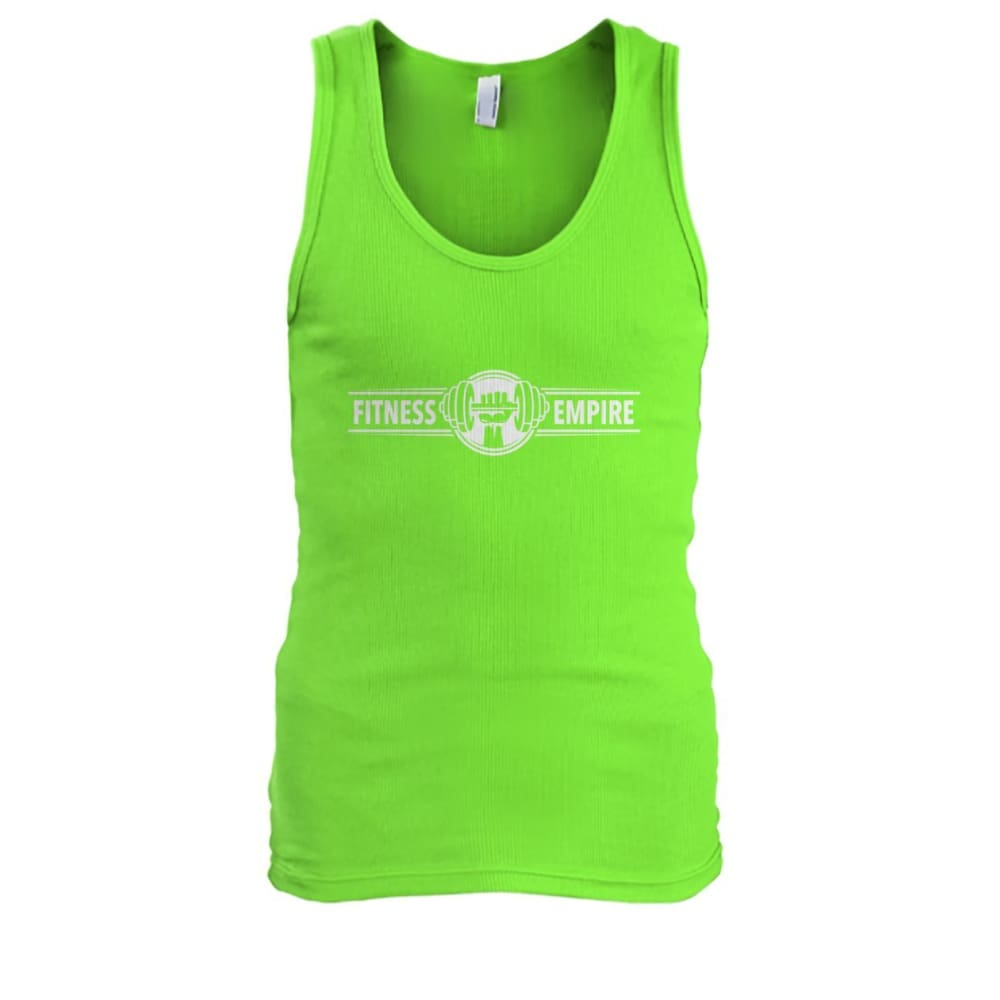 Fitness Empire Tank - Lime / S - Tank Tops