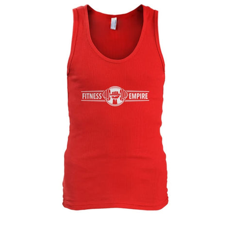 Image of Fitness Empire Tank - Red / S - Tank Tops
