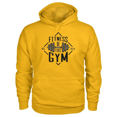 Image of Fitness Gym Hoodie - Gold / S - Hoodies