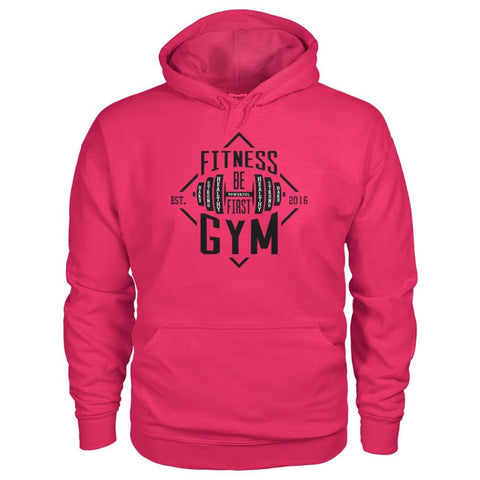 Fitness Gym Hoodie - Heliconia / S - Hoodies