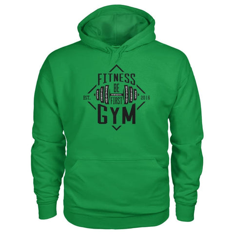 Fitness Gym Hoodie - Irish Green / S - Hoodies